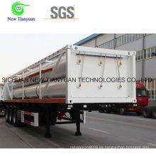 Sistema hidráulico CNG Jumbo Cylinder Transporte Semirremolque