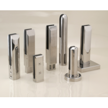 New Design Stair Stainless Steel Glass Holding Clips