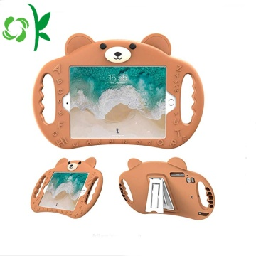 Handle Stand Silicone Tablet Case Cover för Ipad