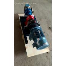 High viscosity flow epoxy resin gear pumps