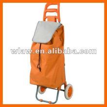 2012 Fashional wheeled shopping trolley Smart cart