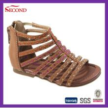 Multi Straps Frauen Sandalen mit Glas
