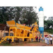 YHZS35 planta portátil de hormigón portátil para la venta 35m3 / h, 30m3 / h
