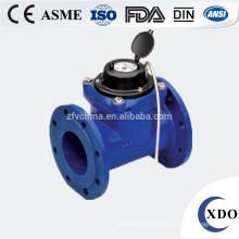 compteur d'eau control valve à distance de grand diamètre photoélectrique lecture directe