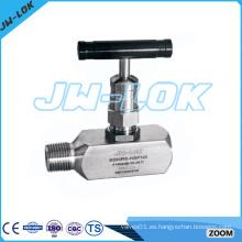 Válvula dosificadora de acero inoxidable de alto rendimiento
