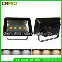 200Вт черный корпус светодиодный Прожектор ac85-265v Водонепроницаемый IP65 наружное освещение