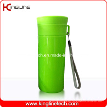 500ml Plastic Double Layer Cup Lanyard (KL-5019)