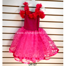 Two Color Stitching Party Dress