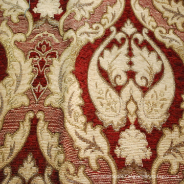 Wholesale Luxury Flower Design Jacquard Chenille Upholstery Sofa Curtain Fabric