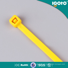 Bridas de plástico del lazo de cable de nylon PA66 con RoHS