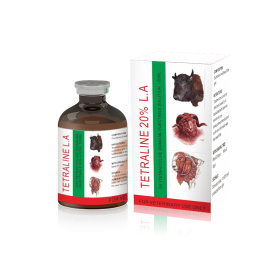 Inyección de oxitetraciclina farmacéutica animal 20%