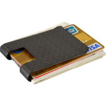 New Black Twill Money Clip Wallet Clip