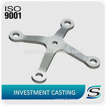 stainless steel railing glass clamps fitting