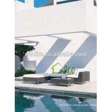 2014 new pe rattan modern outdoor wicker furniture rattan sofa garden sofa furniture for sale