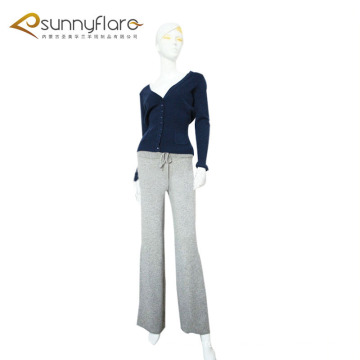 Women 100% pure cashmere warm pants