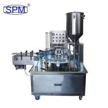 KIS Series Rotary Automatic Cup Filling And Sealing Machine