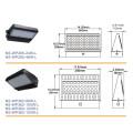 UL Dlc listete 120W LED Wandpackung im Freien auf