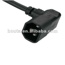 250V AC Power Cord Right Angle
