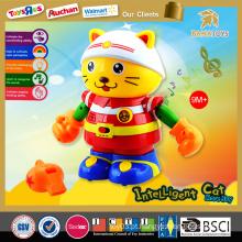 Grande promoção! 2015 mais recente atualização musical bebê brinquedo dança gato