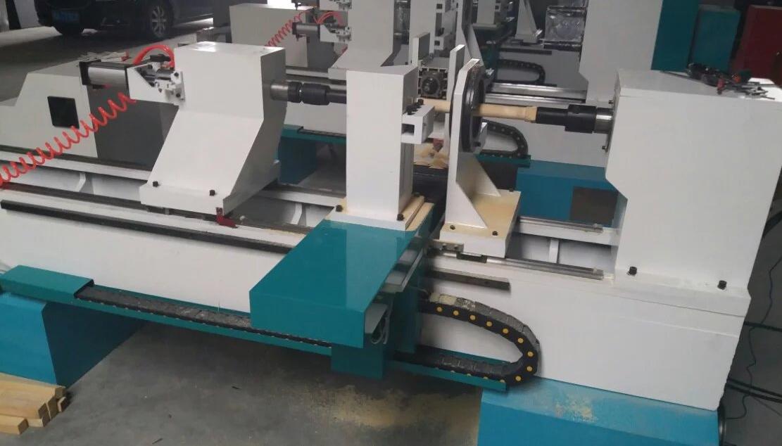 CNC wood lathe machine