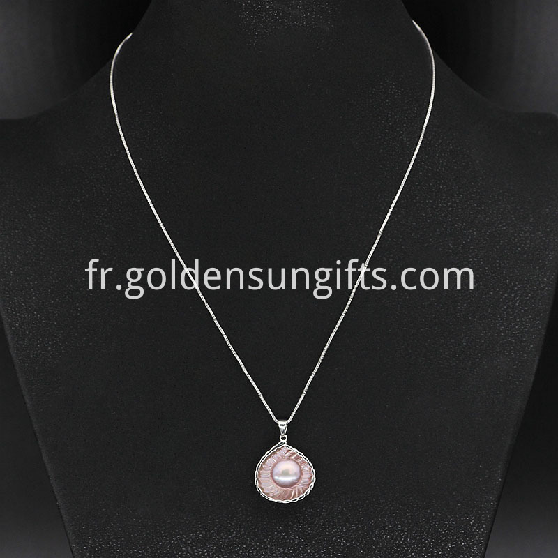 Pendant Pearl Necklace