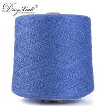Cachemira estallada para tejer a mano Máquina de tejer algodón hilado de cachemira