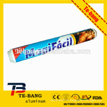 OPP film rétractable emballage cuisine feuille d'aluminium pour le commerce de gros
