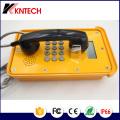 Teléfono de emergencia a prueba de intemperie al aire libre con grado IP66 Koontech Poe