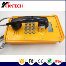 Outdoor Weatherproof Emergency Telephone with IP66 Grade Koontech Poe