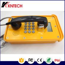 Telefones VoIP Telefone Industrial Knsp-16 com display LCD Kntech