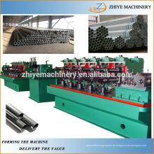 Línea de producción de tubos soldados de acero inoxidable ss de alta precisión