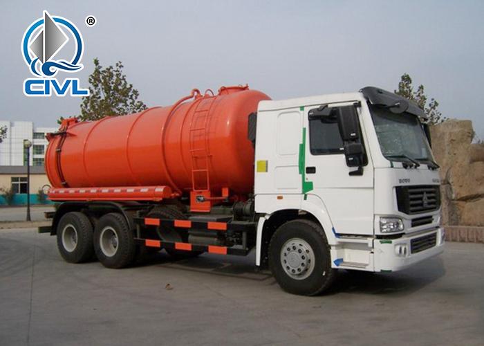 6x4 Sewage Suction Truck 6