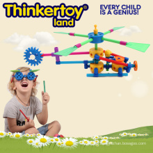 Dynamic and Machinery Building Toy Themed Helicopter
