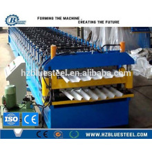 Cheap Automatic High Rib Galvanized Steel Double Layer Roof Sheet Roll Forming Machine For Sale
