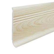 F100-C, PVC Baseboard kitchen cabinet crown moulding skirting board