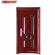 TPS-028 Modern House Cheap Stainless Steel Door Design, Steel Security Door
