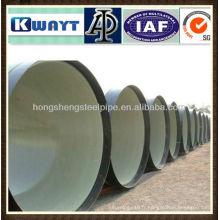 Doublure en ciment Tubes en acier anti-corrosion