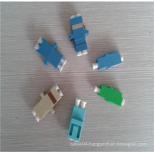 Fiber optic adapter lc apc/pc adapter optical singlemode multimode simplex fiber adapter / lc adapter