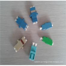 Fibra óptica adaptador lc apc / pc adaptador óptico singlemode multimodo adaptador de fibra simplex / lc adaptador