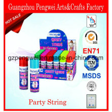 Cheap Price Party String, Crazy Ribbon, Festival Streamer Spray
