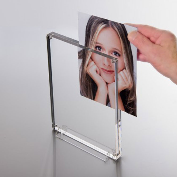 Clear Plastic Double Sided Picture Frames