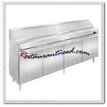 R266 2.4m 4 portes Fancooling salade banc de travail