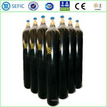Cilindro de nitrogênio de aço sem costura de alta pressão 40L (ISO9809-3)