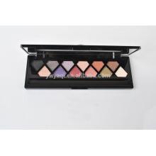 12 color diamante forma de maquillaje paleta de sombra de ojos con sombra de ojos MSDS certificados