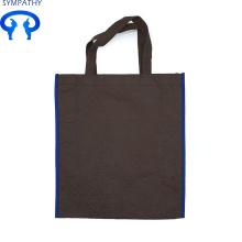 Dokunmamış çanta düz cep reklam alışveriş çantası