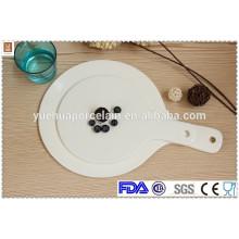 Vajilla de cerámica al por mayor de cerámica placa de servir de pizza de cerámica