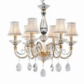 luxurious candel chandelier wedding lamp