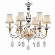 luxurious candel chandelier wedding lamp