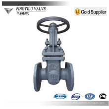 Lighter Carbon steel gost hard sealing gate valve Z41H-16C made in China