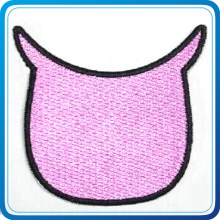 Custom Cute Fabric label with Full Colors for Child